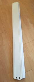 valkoinen Yläpelti 1.13 m